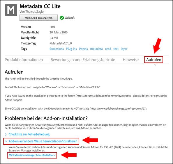 metadatacc-installation-deutsch