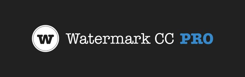 Watermark CC Pro ist da!