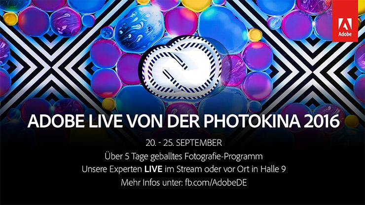 Adobe live von der Photokina – Lernen von den Besten