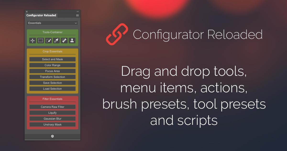 Configurator Reloaded – Adobe Photoshop Panel