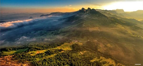Luftbildfotografie – Ein Beitrag über die Arbeit von Christjan Ladurner