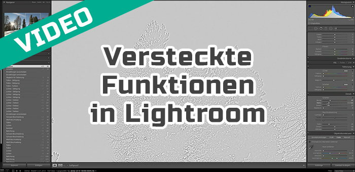 Versteckte Funktionen in Lightroom (Alt-Taste)