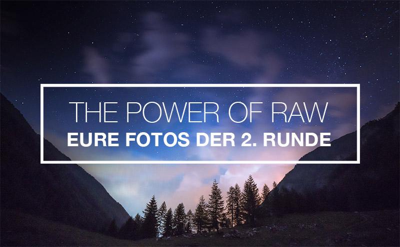 The Power of RAW – Die Ergebnisse der zweiten Runde