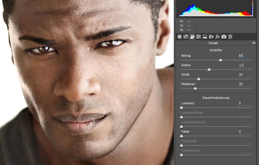 Schärfen in Photoshop: Alle Techniken Schritt für Schritt vorgestellt