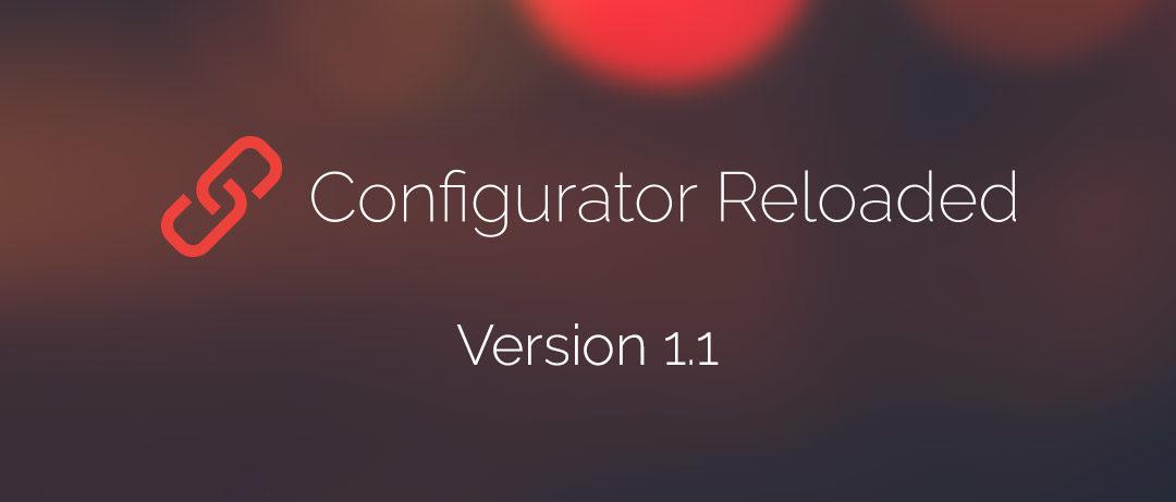 Configurator Reloaded Version 1.1 – Pinsel- und Werkzeugvorgaben und mehr