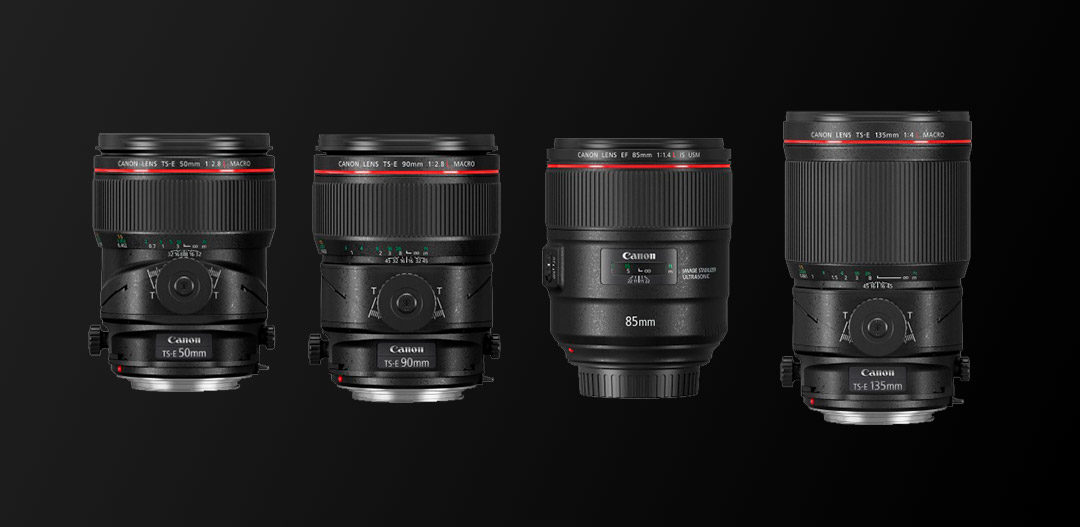 Canon: Neues 85 mm 1.4 und drei neue Tilt/Shift-Objektive
