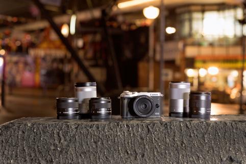 An die Canon EOS M6 passen viele Objektive