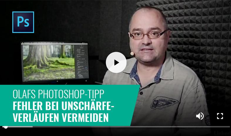 Photoshop-Tipp: Fehler bei Unschärfe-Verläufen vermeiden